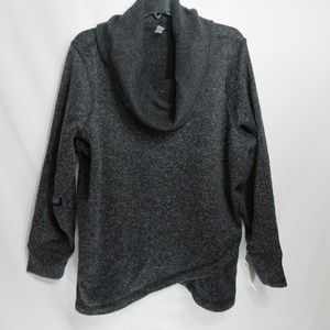 Ideology Gray Pullover Sweater 1X
